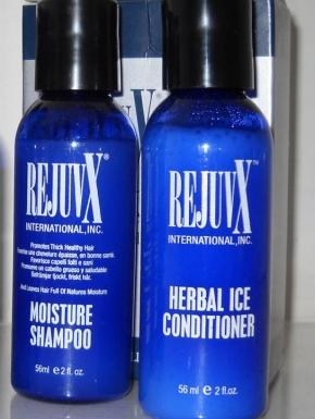 Fly kit shampoo moisture e herbal ice conditioner Rejuvx