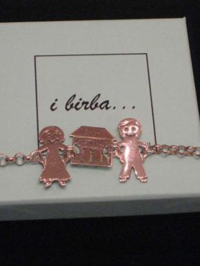 I Birba... by Fabbrini Bracciale in Argento collezione I Birba Braccia