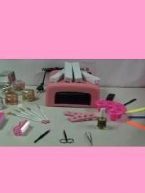 Kit pronto per nail art e decorazione unghie optimum