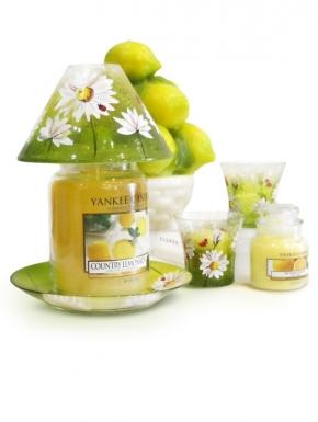 Sculpture / candle basket lemons Yankee Candle