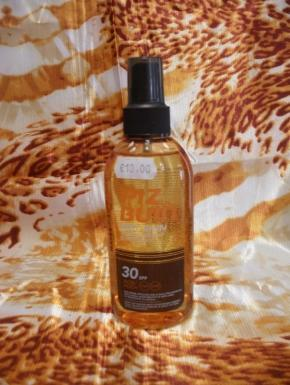 transparent sun protection spray 30