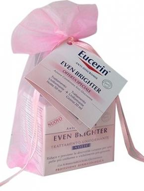 Eucerin even brighter uniformante notte 50 ml + even brighter giorno 20 ml