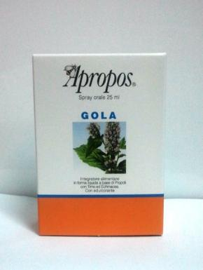 apropos gola spray
