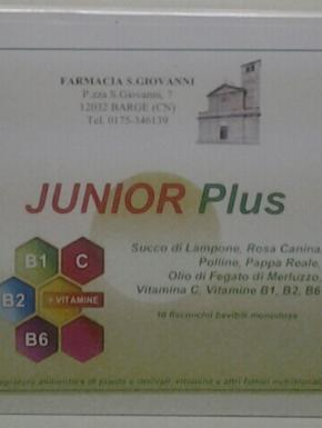 Junior plus 10 flaconcini