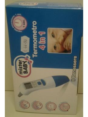 Termometro 4 in 1 Mister baby