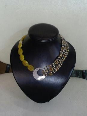 choker necklace AGATA
