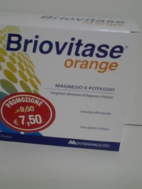 Briovitase Orange Magnesio e Potassio 14bst