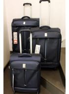 Valigeria Delsey Flight set 3 trolley blu