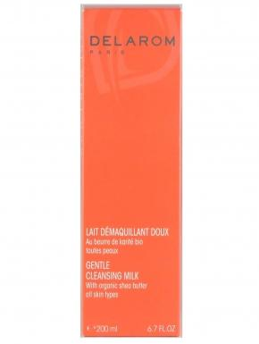 delarom lait demaquillant doux 200ml