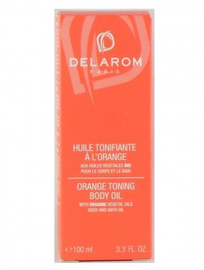 delarom huile tonifiante a l orange 100ml