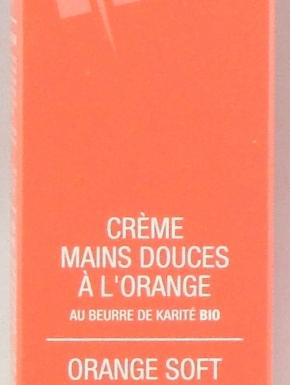 delarom creme mains douces a l orange 75ml