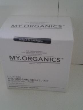 The organic skin elixir hyaluronic acid. 6 fiale da 6 ml