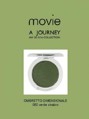 MOVIE OMBRETTO DIMENSIONALE  002 VERDE CINABRO